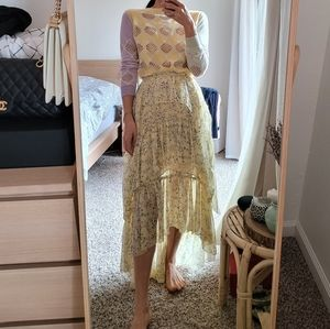 Ulla Johnson silk long skirts